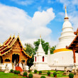 Tourist temple in Thailand — Stock Photo