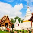 Tourist temple in Thailand — Stock Photo
