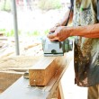 Stock Photo: Carpentry working
