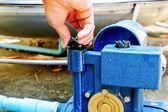 Repair water pump — Stock Photo