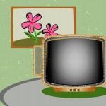 Retro TV — Stock Vector #26593357