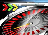 Speedometer — Vector de stock