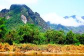 Vang vieng laos — Stock Photo