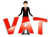 Vat payable — Stock Vector