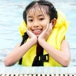 Closeup cute young girl — Stock Photo #6302330