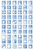 Universal Outline Icons — Stock Vector