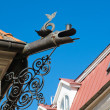 Стоковое фото: Ancient drainpipe in form of dragon