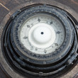 Stock Photo: Old ship's compass, close-up