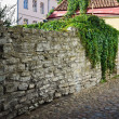 Narrow street in the old town of Tallinn — Stock Photo