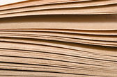 Pile of old books, close-up — Stock Photo