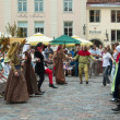 Stock Photo: TALLINN, ESTONI- JULY 8: Celebrating of Days Middle Ages
