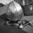 Stock Photo: Knightly weapon and armour