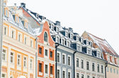 Facades of houses in Old Riga — Stockfoto
