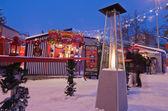 The christmas market in Riga — Stock Photo