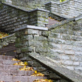 Stone staircase leading up, close-up — Stock Photo