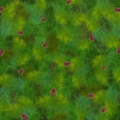 Christmas fir tree texture — Cтоковый вектор