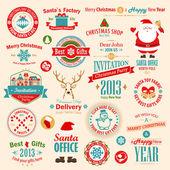 圣诞套 — 图库矢量图片