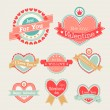 Royalty-Free Stock Obraz wektorowy: Valentines Day set
