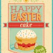 Vintage Easter card. — Stock Vector #24115135