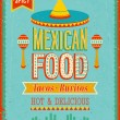 Vintage MexicFood Poster. — Vetorial Stock #30118449