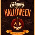 Happy Halloween Poster. — Stock Vector #31539041