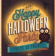 Happy Halloween Poster. — Stock Vector #31537031