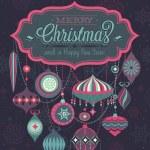 Christmas Poster. — Stock Vector
