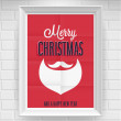 Vintage Christmas Poster. — Stock Vector #34173111