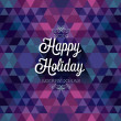Happy Holiday — Image vectorielle