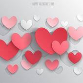 день святого валентина абстрактный фон. — Cтоковый вектор