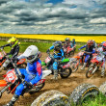Постер, плакат: Motocross in UK