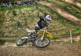 Motorcross in Verenigd Koninkrijk — Stockfoto