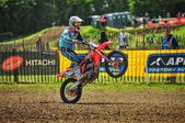 Motocross in UK — Stock Photo