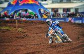 Motocross in UK — Stock Photo