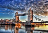 London ..day and night — Stock Photo