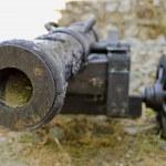 vecchio cannone da fortezza di brasov — Foto Stock #31440969