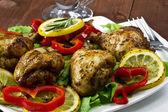 Pilons de poulet frits — Photo