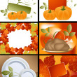 Thanksgiving Designs - Stock Photo