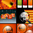Royalty-Free Stock Imagem Vetorial: Sale Designs