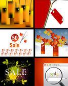 Sale Designs — Stock Vector