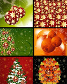 Christmas Designs — Stock Vector