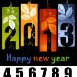 New Year greeting card — Stock Photo #16859203