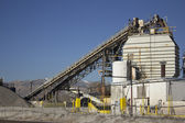 Mineral cement plant factory — Stock Photo