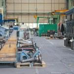 In the repair workshop shipyard — Stock Photo #13227531