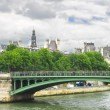 Stock Photo: Bridge over the Seine. Paris. France