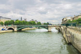 Bridge over the Seine. Paris. France — Stock Photo