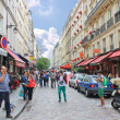 On the streets of Paris. France — Stock Photo