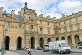 Na ulicach Paryża. Francja — Zdjęcie stockowe