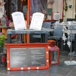 Stock Photo: Cafe on the street in Valkenburg. Netherlands