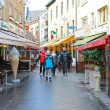 On the streets of Valkenburg. Netherlands — Stock Photo